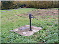 TM4167 : Middleton Moor Village Pump by Adrian Cable