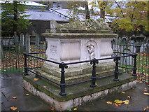 TQ3282 : Tomb of John Bunyan, Bunhill Fields, London by Dr Neil Clifton