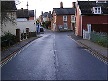 TM2863 : B1119 Fore Street, Framlingham by Adrian Cable