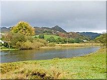 SH7157 : Pool at the end of Llynnau Mymbyr by Mike White