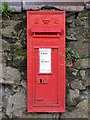 NZ0862 : Edward VII postbox, North View Terrace, West Road (B6395) by Mike Quinn