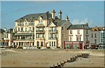 SZ9398 : The Royal Hotel Esplanade Bognor Regis by P L Chadwick