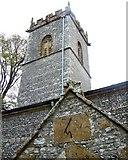 SY7699 : Sundial, St Martin's Church, Cheselbourne by Maigheach-gheal