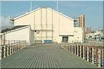 SZ9398 : Rear of entrance building on Bognor Regis Pier by P L Chadwick
