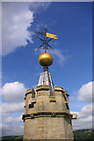 TQ2550 : Weather vane, St Mary's Church, Reigate by Ian Capper