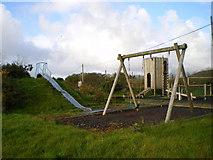 SN1430 : Children's playground in Mynachlog-ddu by Richard Law