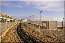 TQ3103 : Volks Railway, Brighton, East Sussex by Christine Matthews