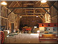 TL3451 : Inside the Great Barn by Sandy B