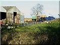 NZ1082 : Farm buildings at Tile Sheds Farm by Oliver Dixon