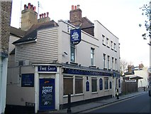 TQ7567 : The Ship public house, Rochester by David Anstiss