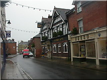 SU3521 : The Abbey Hotel, Romsey by Mike Faherty