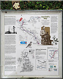TG0723 : Marriott's Way - Information board by Evelyn Simak