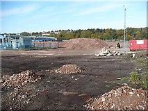 ST3186 : Demolition site, Mendalgief Road by Robin Drayton