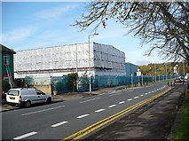 ST3186 : Former steelworks buildings, Mendalgief Road by Robin Drayton