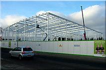 TL8364 : Asda framework nears completion, Bury St. Edmunds by John Goldsmith