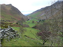 SH5453 : Upper end of the Nantlle Valley by Eirian Evans