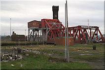 SJ3290 : Bascule bridge, between Alfred Dock and the East Float by David Long