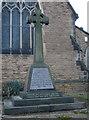 SK5343 : War Memorial, Cinderhill by Oxymoron
