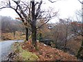 NM6829 : Bridge over Abhainn a' Choire by Richard Dorrell