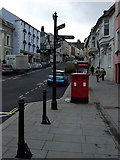 SM9515 : Street furniture in Castle Square by ceridwen