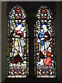 NZ0863 : St. Mary's Church, Ovingham - stained glass window (2) by Mike Quinn