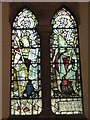 NZ0863 : St. Mary's Church, Ovingham - stained glass window (3) by Mike Quinn