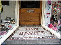 SM9515 : Tom Davies's old shop by ceridwen