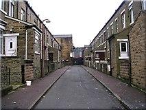 SE0824 : Willow Street - Hopwood Lane by Betty Longbottom