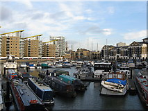 TQ3680 : Limehouse Basin by Dr Neil Clifton