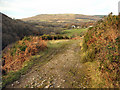 SS8790 : Track, Cwm Du with view to the north by eswales