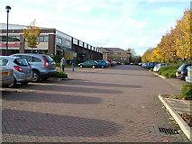 TL8364 : Glasswells furniture store car park by John Goldsmith