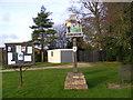 TM1871 : Redlingfield Village Sign & Redlingfield Village Notice Board by Geographer