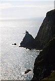NX1430 : Cliffs at Gallie Craig by Gordon Hatton