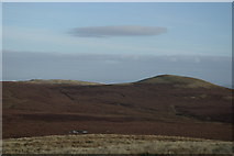 NS2659 : A view from Little Irish Law across Blacklaw Moss to Black Law by Leslie Barrie