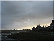 SH3568 : Approaching nightfall on Afon Ffraw by Eric Jones