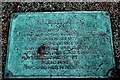 SW8141 : Plaque at Playing Place by Fred James