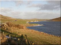 HU4141 : Loch of Asta by Stuart Wilding