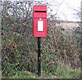 TA0622 : E II R Postbox, Ferry Road, Barrow Haven by David Wright
