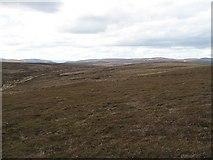 NN7877 : Moorland, Sròn a' Chleirich by Richard Webb