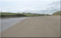 SH3568 : Beach alongside Afon Ffraw by Eric Jones