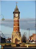 TF5663 : Skegness Clock Tower by John Lucas