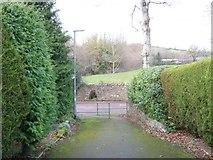 SX8663 : Footpath to Love Lane, Marldon by Paul Hutchinson