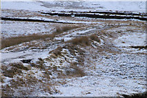 HU4586 : Old road, south of West Sandwick by Mike Pennington