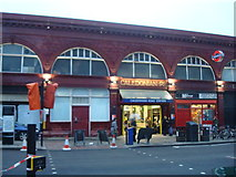 TQ3084 : Caledonian Road Underground Station by Stacey Harris