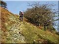 NY4712 : The path climbs by Oliver Dixon