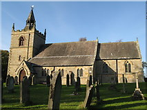 NY9371 : St. Giles Church, Chollerton by Mike Quinn