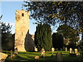 NY9166 : The churchyard of St. Michael's Church, Warden by Mike Quinn
