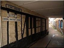 ST0207 : Timbered wall, Cullompton by Derek Harper