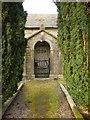 SD7656 : St Bartholomew Church, Tosside, Porch by Alexander P Kapp