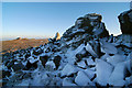 SO3698 : Sun and shade on the Stiperstones by Dave Croker